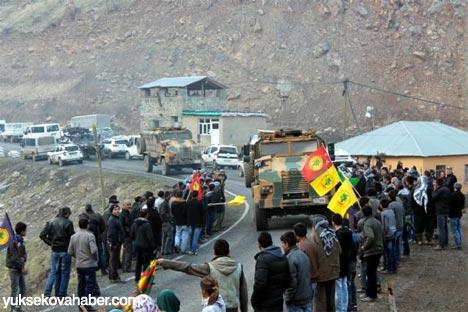 Kirpiler BDP konvoyunun arasında kalınca 6