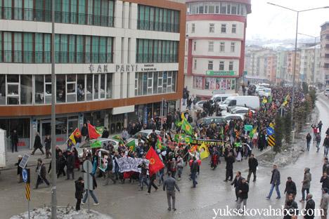Hakkari Rojava'da ilan edilan özerkliği selamladı 10