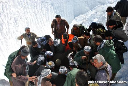 Çığ altında kalan İranlılar bulundu 13