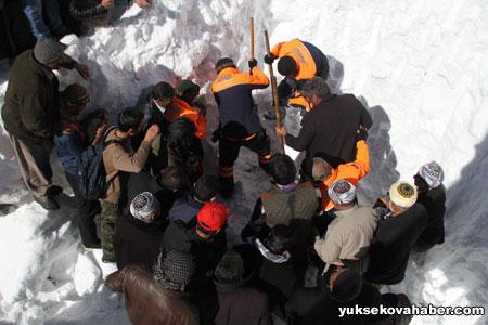 Çığ altında kalan İranlılar bulundu 16
