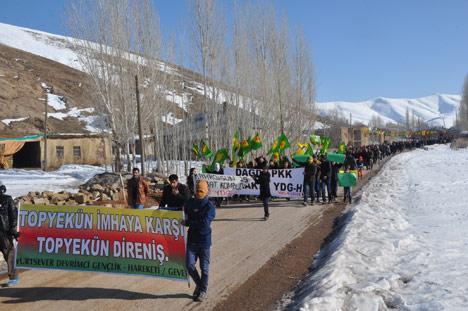 Şemdinli ve Yüksekova'da '15 Şubat' protestosu 19