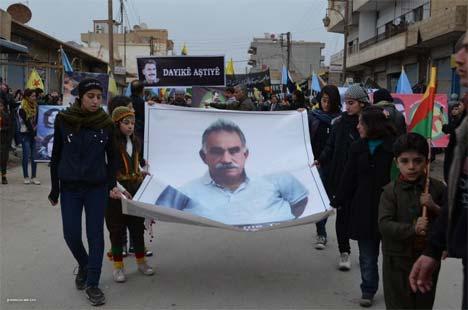 Rojava Öcalan için ayakta 11