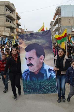 Rojava Öcalan için ayakta 12