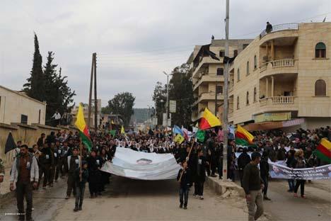 Rojava Öcalan için ayakta 3