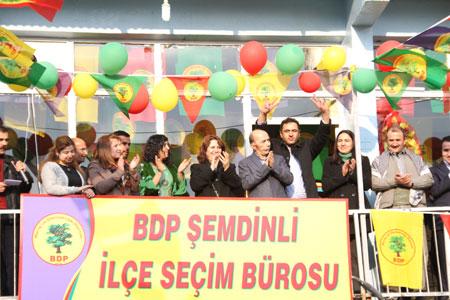 BDP Şemdinli'de seçim bürosu açtı! 27