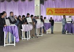 Kürtçe bilgi yarışması yoğun ilgi gördü
