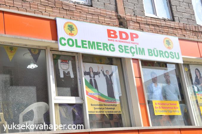 BDP Hakkari'de seçim bürosu açtı 20
