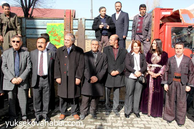 BDP Hakkari'de seçim bürosu açtı 9