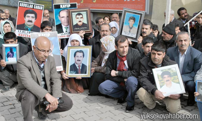 Yüksekova'da Cumartesi Anneleri Turgut'un faillerini sordu 2