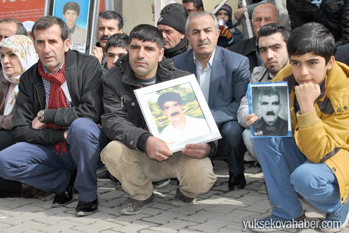 Yüksekova'da Cumartesi Anneleri Turgut'un faillerini sordu 3