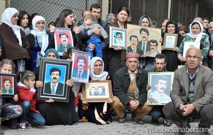 Yüksekova'da Cumartesi Anneleri Turgut'un faillerini sordu 8
