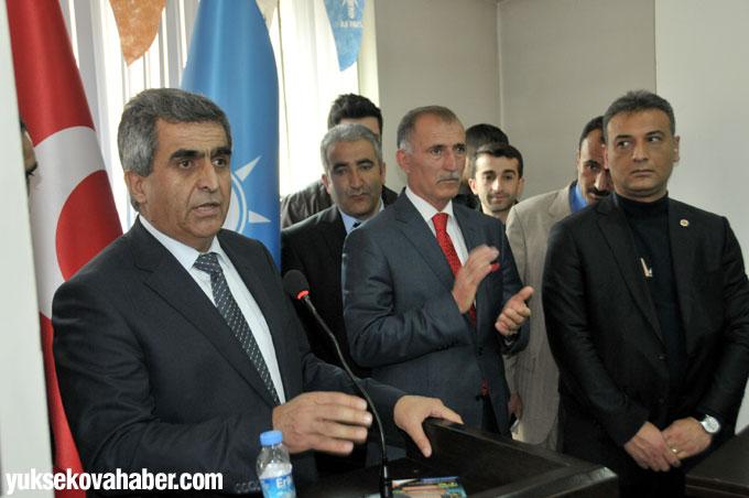 Tarım Bakanı Mehdi Eker Hakkari'de 14