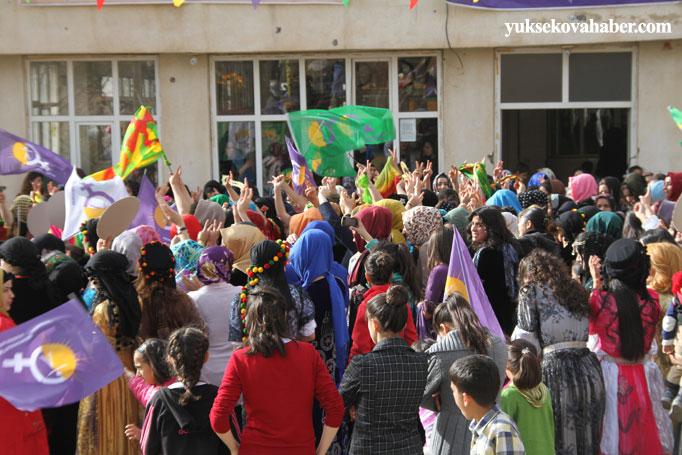 Şemdinli'de 8 Mart kadınlar günü kutlandı 37