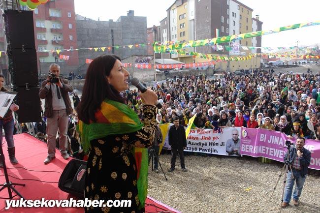 Yüksekova'da 8 Mart kadınlar günü kutlandı 15