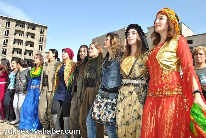 Yüksekova'da 8 Mart kadınlar günü kutlandı 56