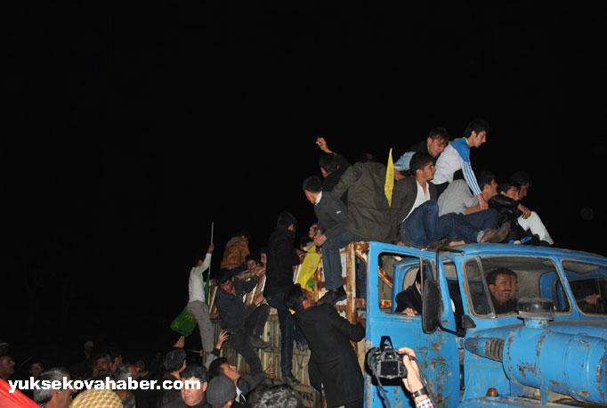 İlk Newroz ateşi Derecik'te yakıldı 20