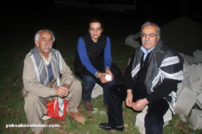 İlk Newroz ateşi Derecik'te yakıldı 3