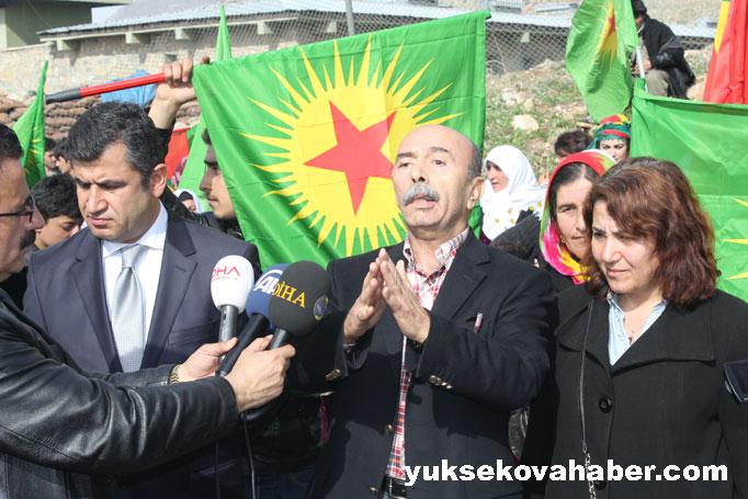 İlk Newroz ateşi Derecik'te yakıldı 39