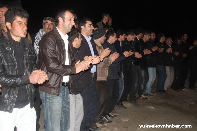 İlk Newroz ateşi Derecik'te yakıldı 4