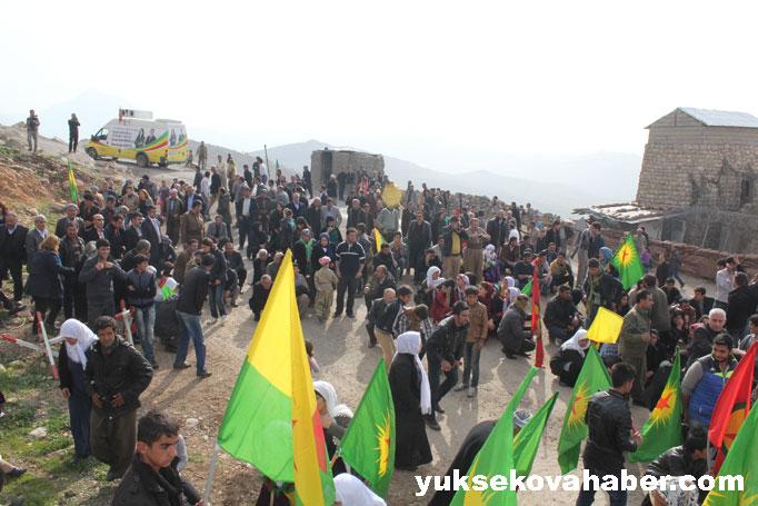 İlk Newroz ateşi Derecik'te yakıldı 41