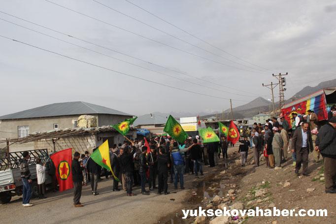 İlk Newroz ateşi Derecik'te yakıldı 47