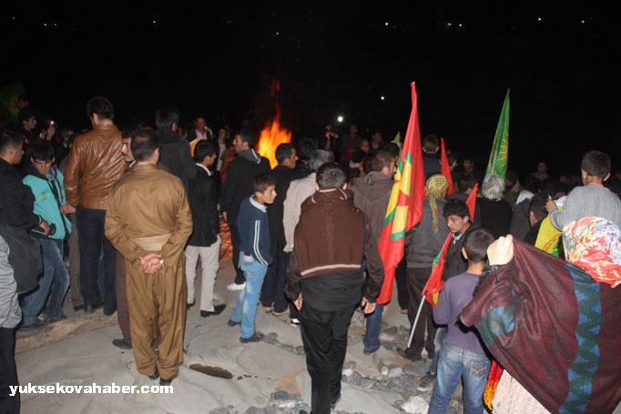 İlk Newroz ateşi Derecik'te yakıldı 5
