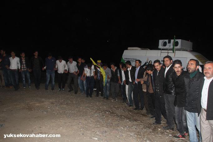 İlk Newroz ateşi Derecik'te yakıldı 7