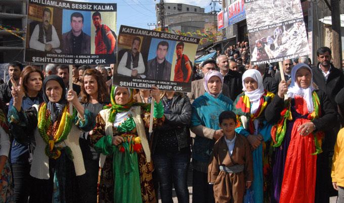 Halepçe Katliamı Yüksekova'da kınandı 14