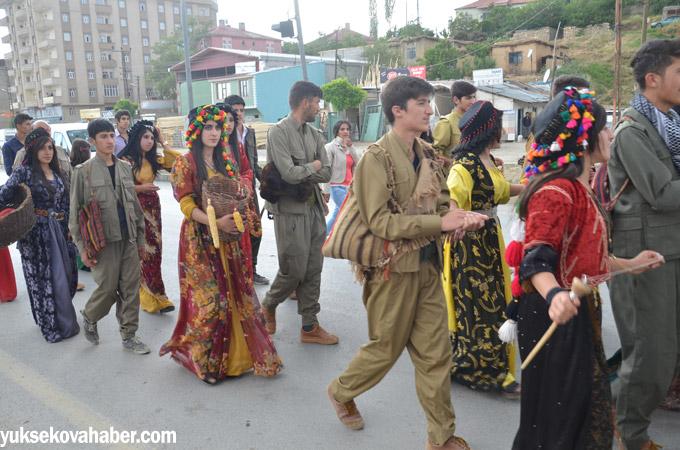 Yüksekova'da 'Kültürel Soykırıma' karşı yürüyüş 1