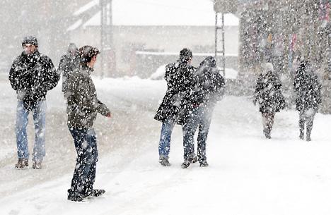 Yüksekova'da karlı bir gün 26