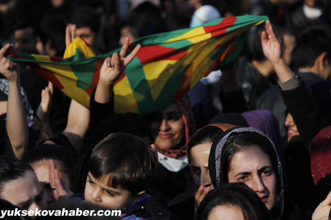 Hozan diyar Şemdinli'de konser verdi 1