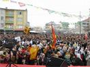 Kar ve yağmura inat Newroz