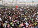 Newroz alanına kitlesel akış sürüyor