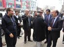 HDP adaylarının esnaf ziyareti