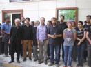 Kürt sanatçıların Suruç'taki nöbeti ikinci gününde