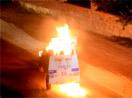 Katliam protestosu sürüyor