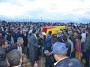 Polisler tarafından öldürülen Sevinç Yüksekova'da toprağa verildi