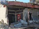 Yüksekova'da sokağa çıkma yasağının ardından çatışma izleri