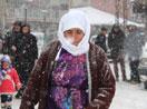 Yüksekova'da kar yağışı!