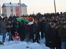 Yüksekova'da vurulan Ersin Aydın, toprağa verildi