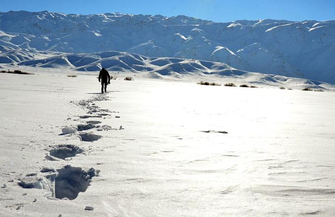 Yüksekova'da kar manzaraları 1