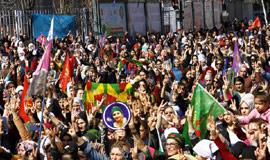 Diyarbakır'da kadınlar günü kutlandı