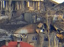 İşte Yüksekova'da top atışlarının hasar verdiği evler