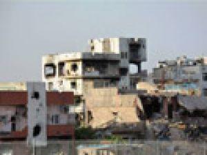 Nusaybin'de yasak kısmen kaldırıldı, tahribat ortaya çıktı