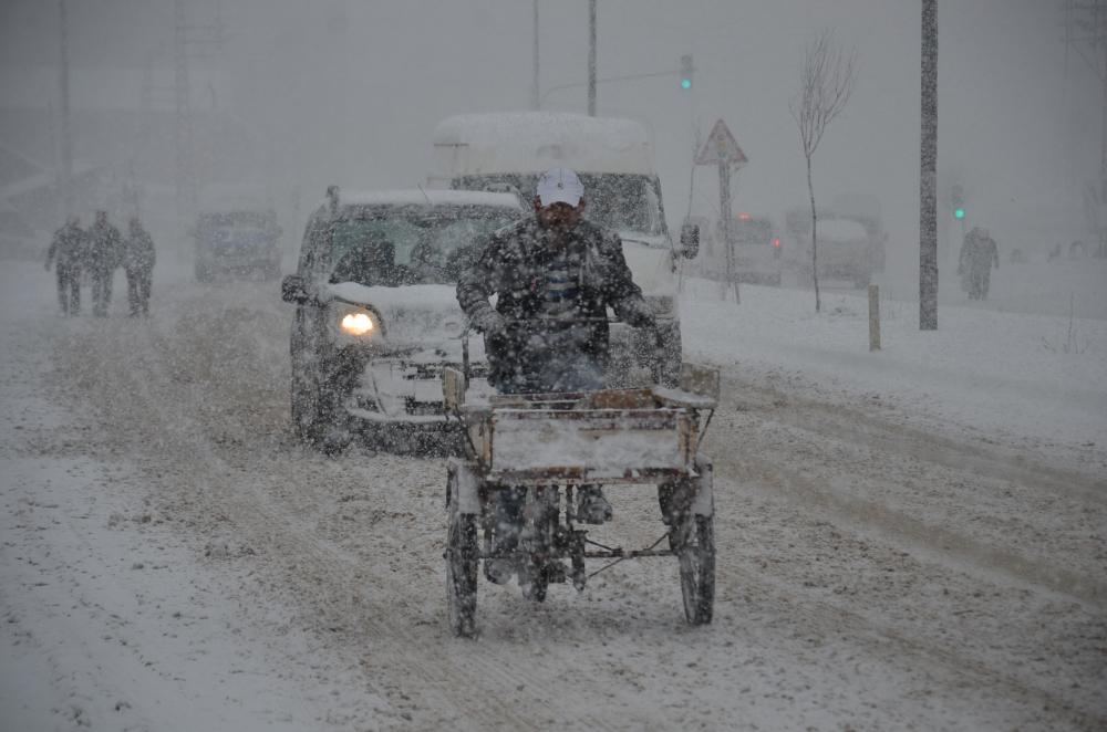 Yüksekova kar yağışı 1