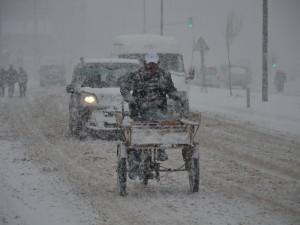 Yüksekova kar yağışı