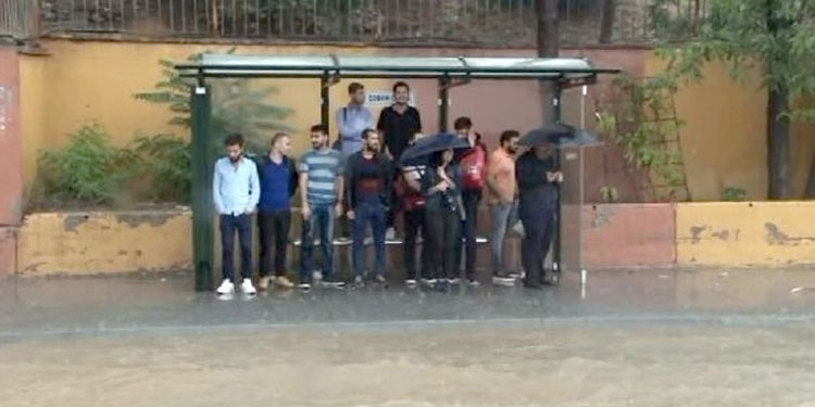 Fotoğraflarla İstanbul'daki sel felaketi 1