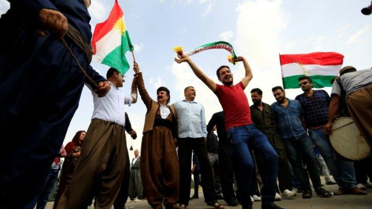 Erbil ve Kerkük'ten referandum manzaraları 1
