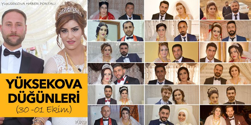 Yüksekova Düğünleri (30 -01 Ekim 2017)