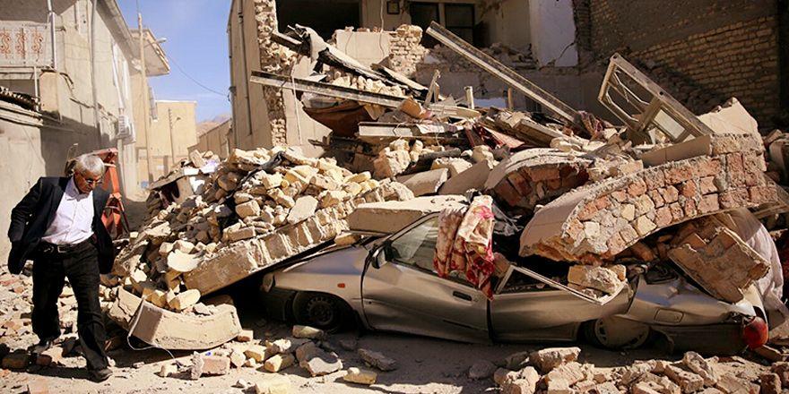 Fotoğraflarla deprem felaketi sonrası Kırmaşan...
